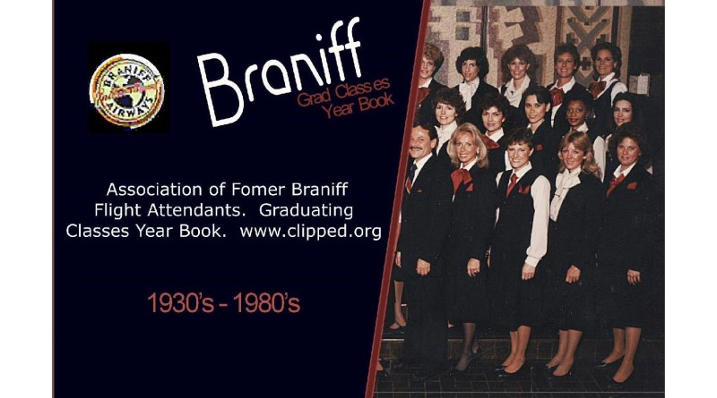 Braniff Grad Classes