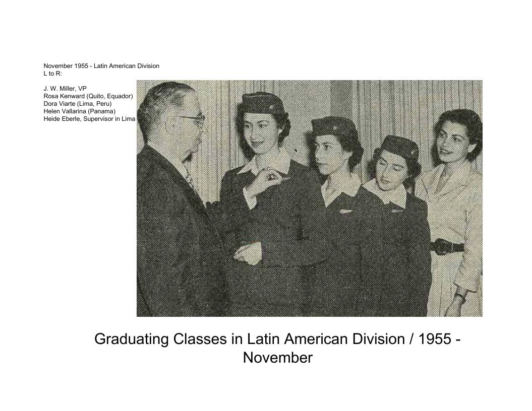 Latin American Division Grad classes